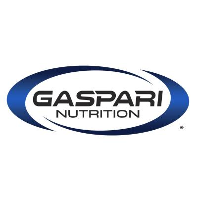 Gaspari Nutrition white logo - Certified Paleo Friendly, KETO Certified by the Paleo Foundation