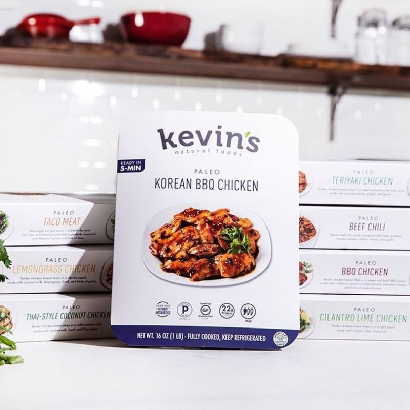 Korean-Style BBQ Chicken - Kevin's Natural Foods - Certified Paleo, KETO Certified by the Paleo Foundation