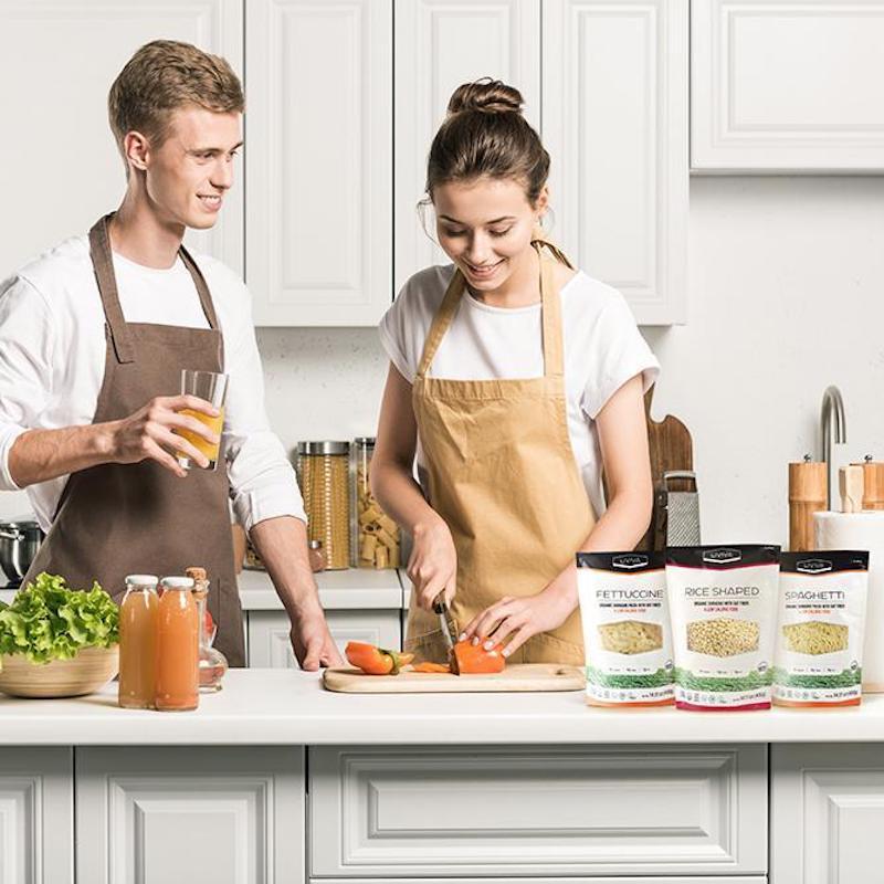 Organic Shirataki Pasta with Oat Fiber - Liviva Foods - KETO Certified by the Paleo Foundation