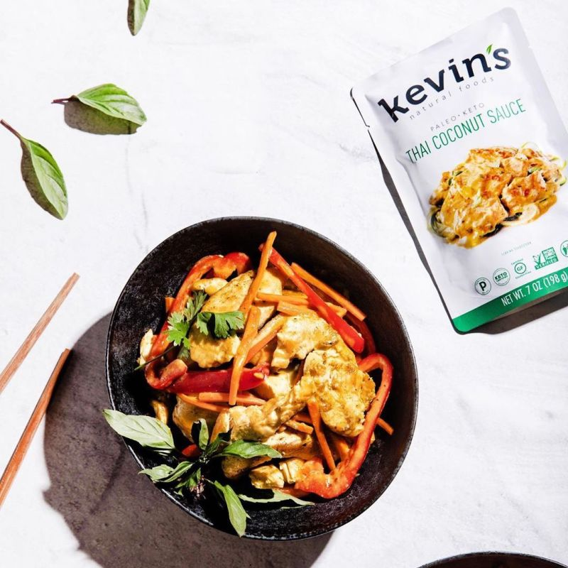Thai Coconut Sauce 2 - Kevin's Natural Foods - Certified Paleo, KETO Certified by the Paleo Foundation