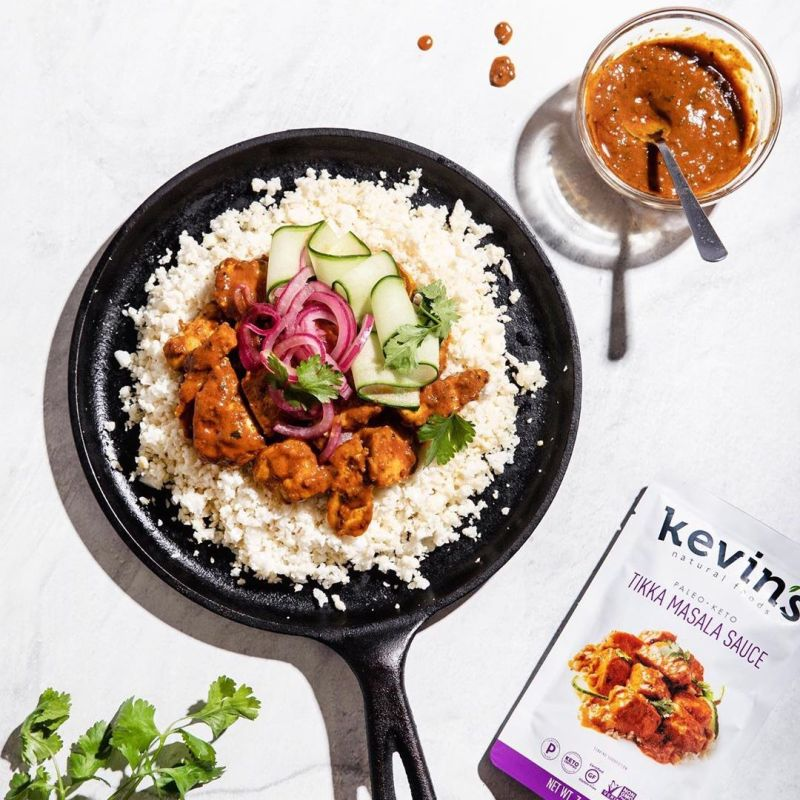 Tikka Masala Sauce - Kevin's Natural Foods - Certified Paleo, KETO Certified by the Paleo Foundation