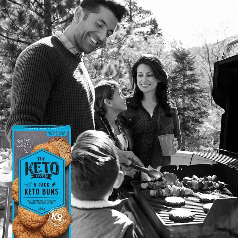 Keto Buns 3 - The Keto Oven - KETO Certified by the Paleo Foundation