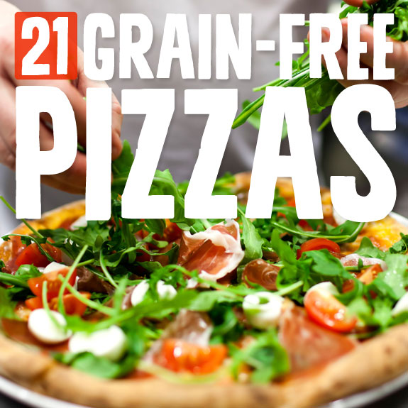 21 Grain-Free Pizza Recipes- delicious pizza without the carbs.