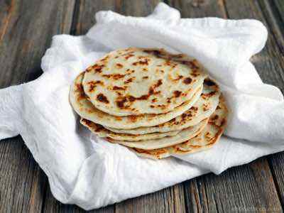 3-Ingredient Paleo Naan