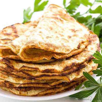 Low Carb Paleo Tortillas
