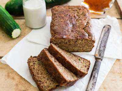 Paleo Almond Zucchini Bread