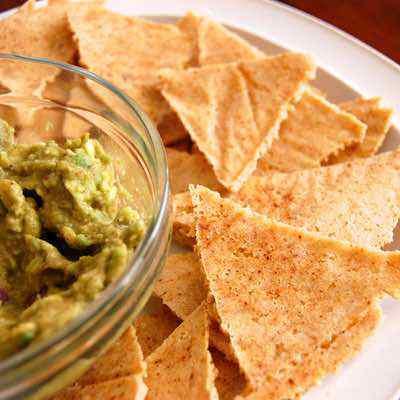 Homemade Paleo Tortilla Chips