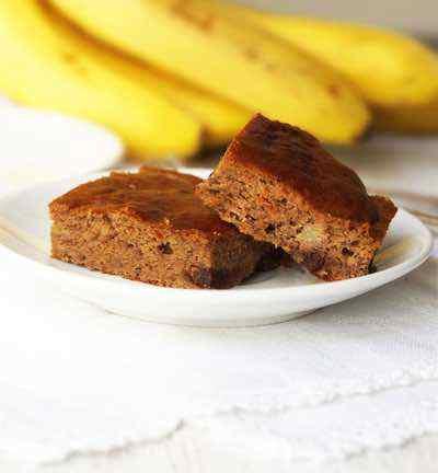 Paleo Banana Snack Cake