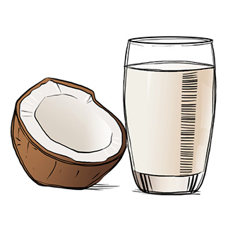 coconut milk for paleo ranch