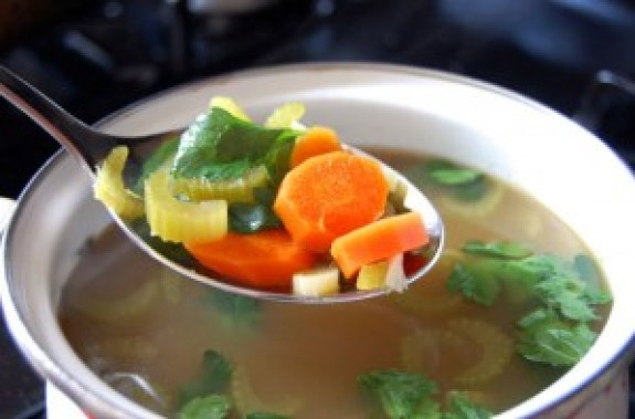 how to make chicken soup