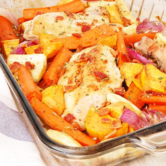 Easy One-Dish Paleo Chicken Dinner - Paleo Grubs