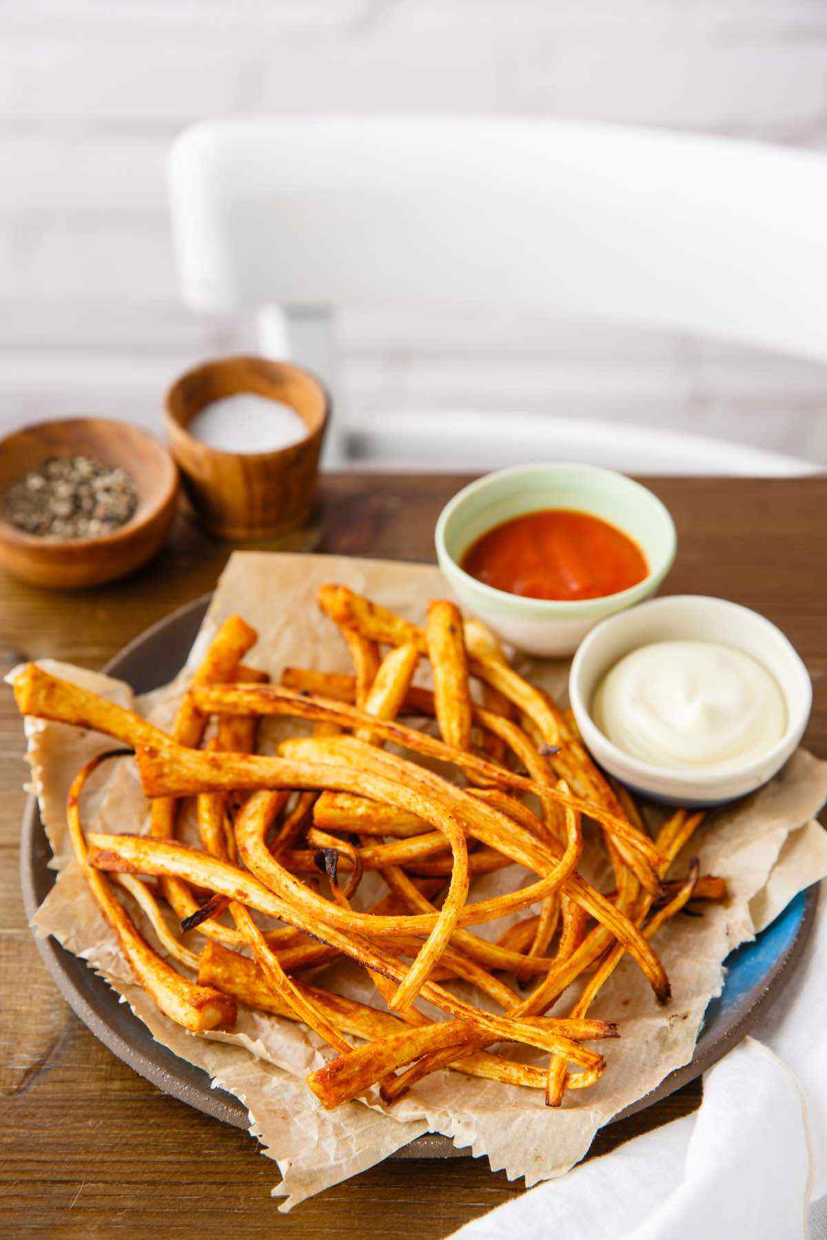 paleo roasted parsnip fries recipe