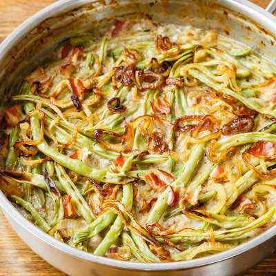 Easy Paleo Green Bean Casserole