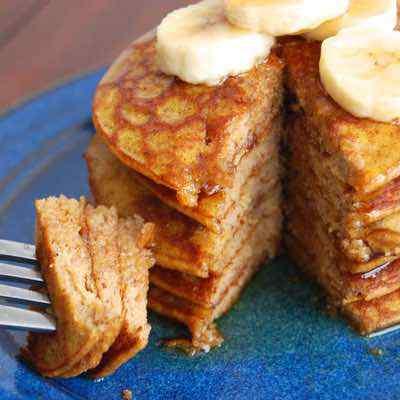 Healthy Paleo Pumpkin Pancakes