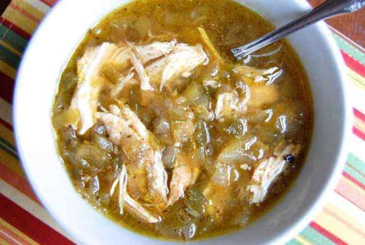 Paleo Chicken Chili Verde