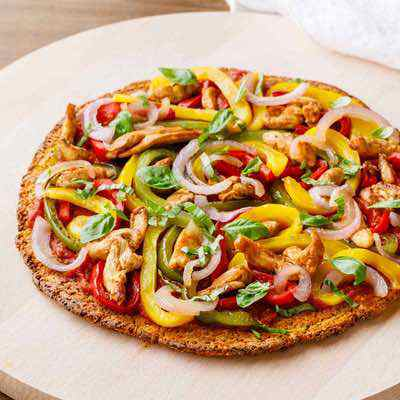 Paleo Sweet Potato Pizza Crust