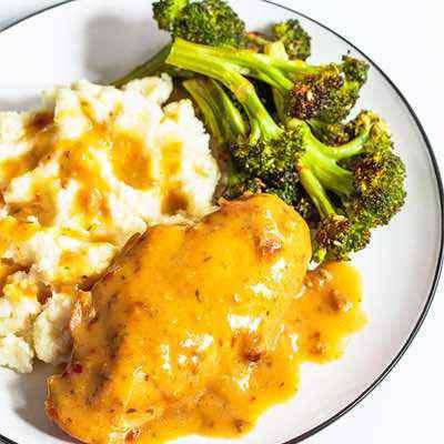 Slow Cooker Paleo Chicken and Gravy