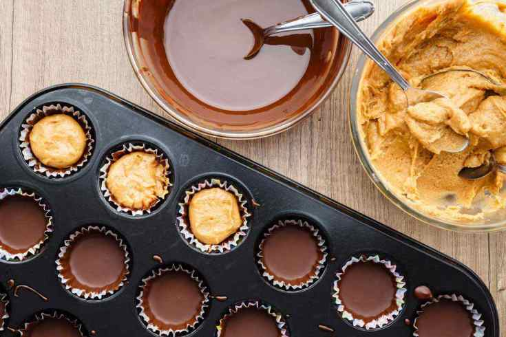 Paleo Almond Butter Cups