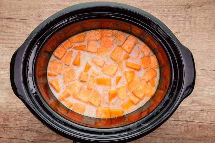 Crockpot Paleo Sweet Potato Soup