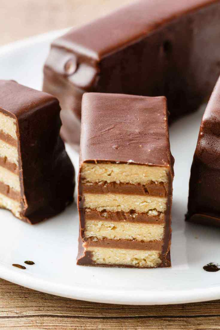 Paleo Kit Kat Candy Bars