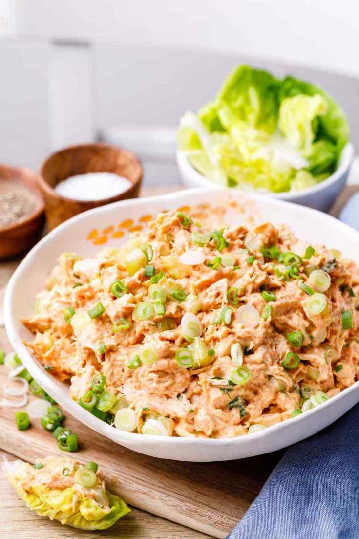 Paleo Buffalo Chicken Salad