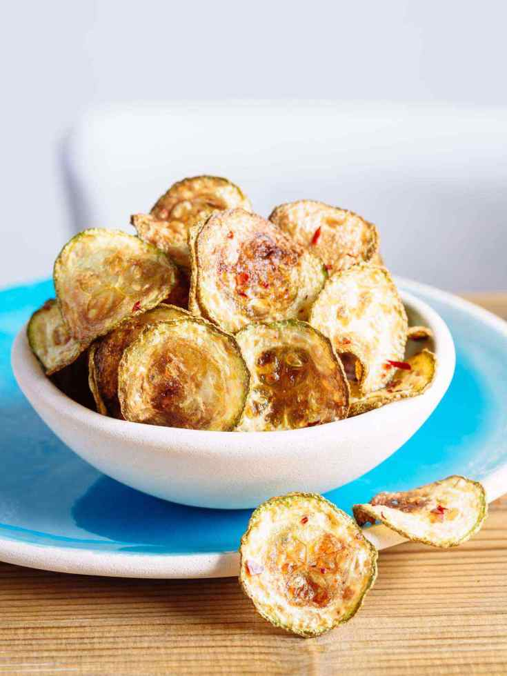 Low Carb Paleo Zucchini Chips