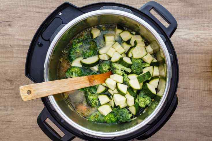 Paleo Instant Pot Chicken Vegetable Soup