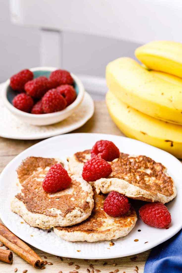 Low Carb Banana Cinnamon Pancake