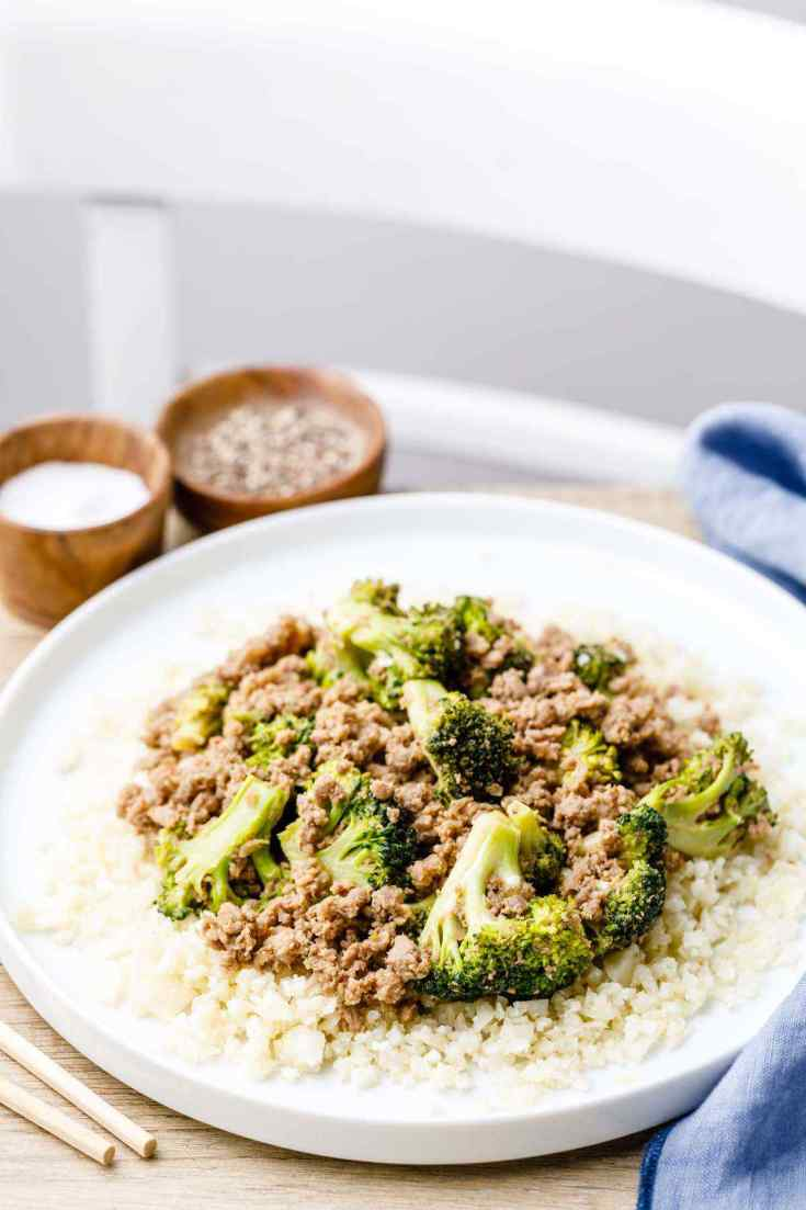 Paleo Ground Beef Stir Fry