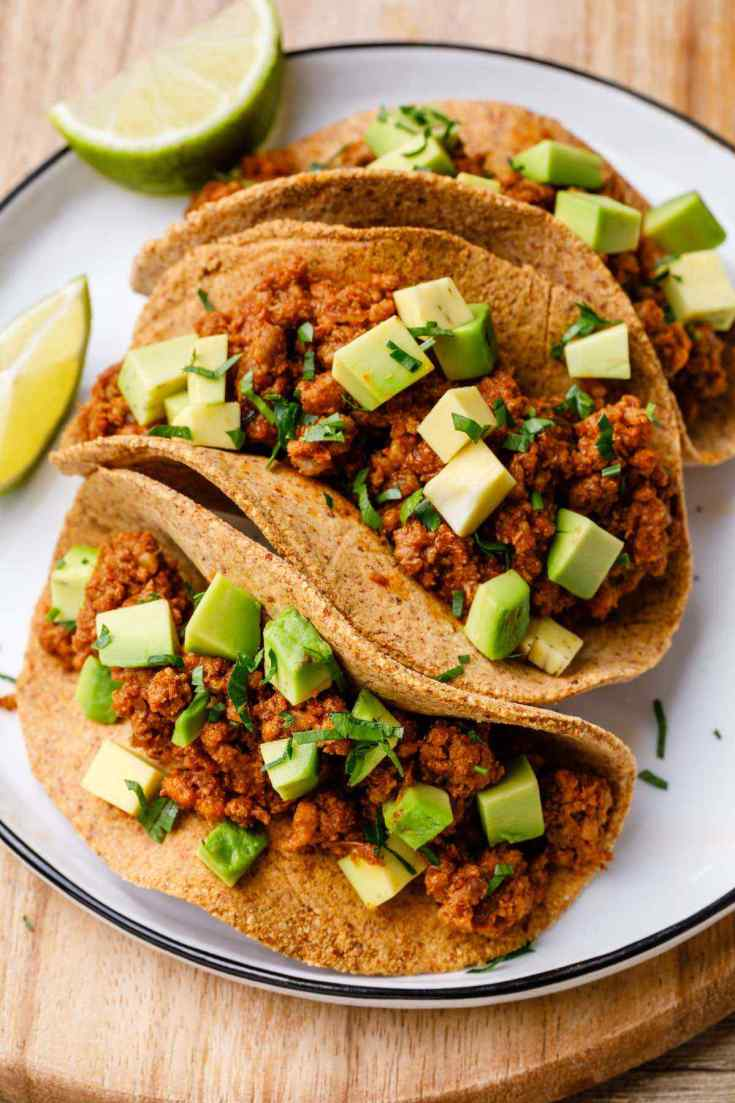 Paleo Ground Beef Tacos