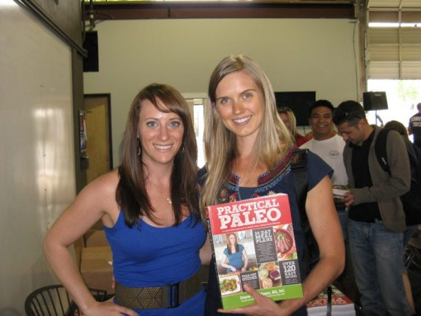 Diane Sanfilippo of Balanced Bites and author of Practical Paleo, and me at her book signing/Q&A session at CrossFit Oregon City.