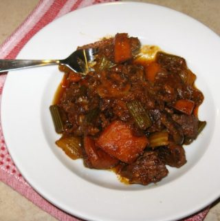 Sweet and Smoky Beef Stew