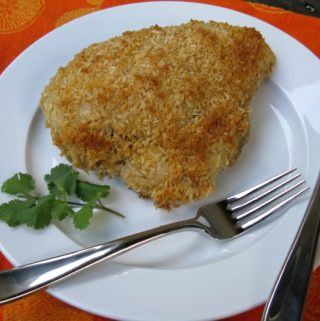Coconut-Crusted Ginger Chicken