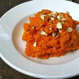 Gingered carrot mash