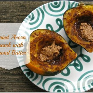 Curried Acorn Squash with Almond Butter