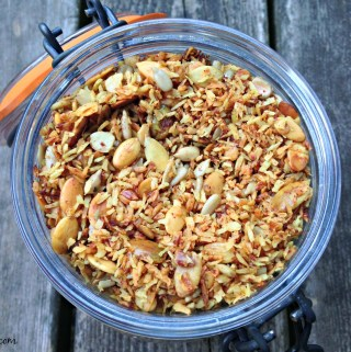 Turmeric and Spice Granola