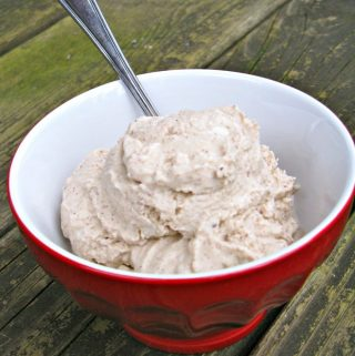 Vanilla Hazelnut Ice Cream