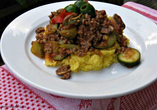 Italian cauliflower hash