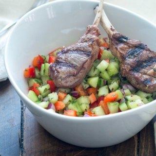Guest Post: Persian Spiced Lamb with Salad Shirazi