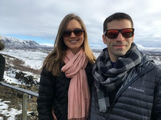 Jesse and me Iceland