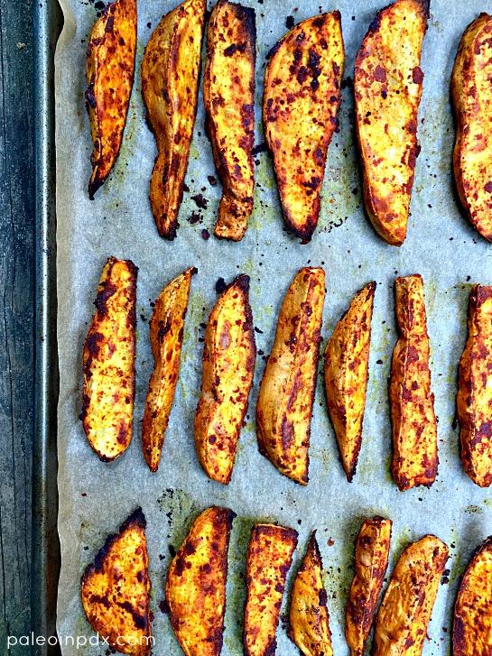 sweet potato wedges 2