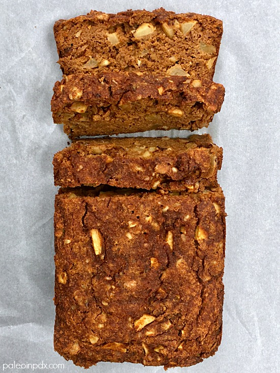 pumpkin apple bread 2