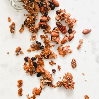 Grain-Free Honey Nut Granola