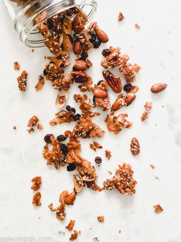 Honey nut granola
