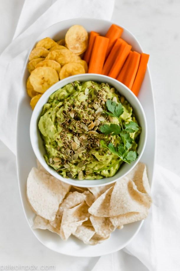 Curry guacamole