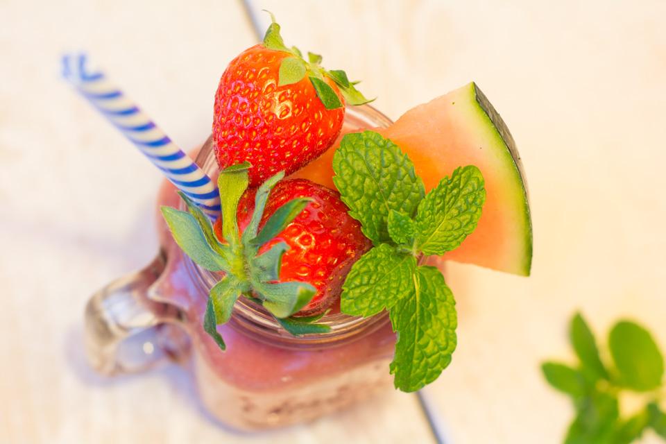 smoothie z arbuza