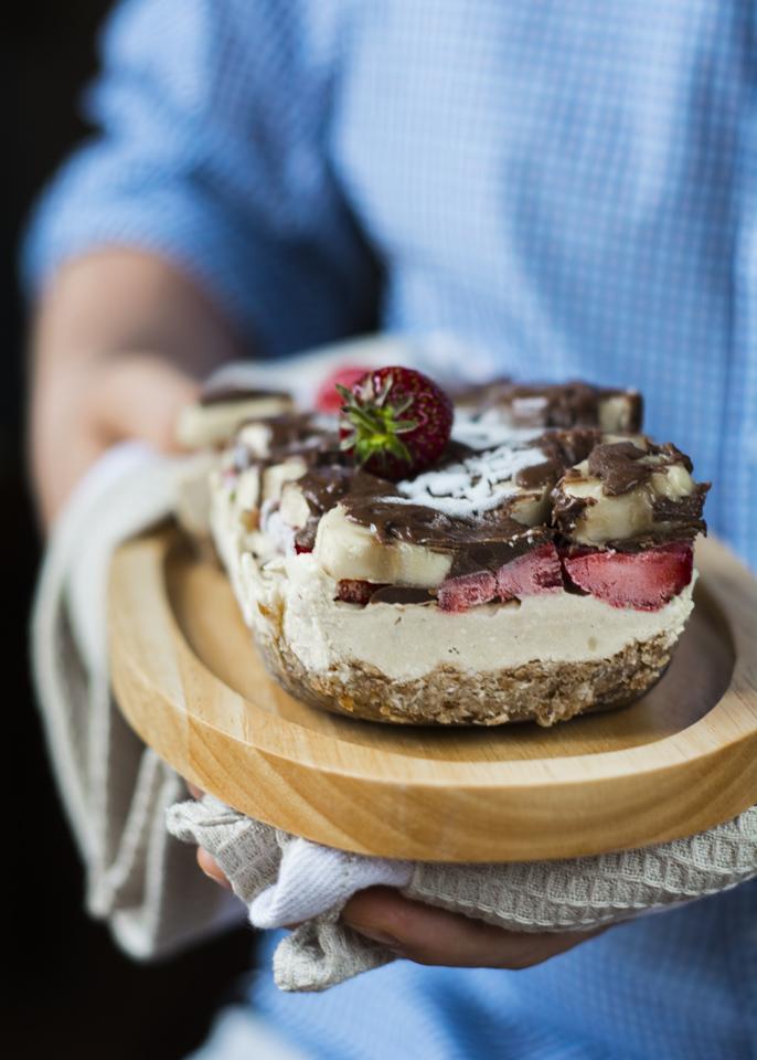 Ciasto z orzechów nerkowca bez glutenu