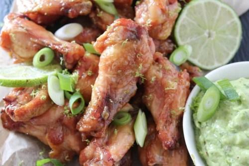 PaleOMG Honey Lime Chicken Wings