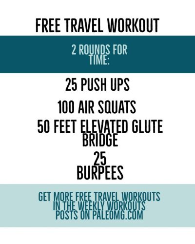 Free Travel Workout