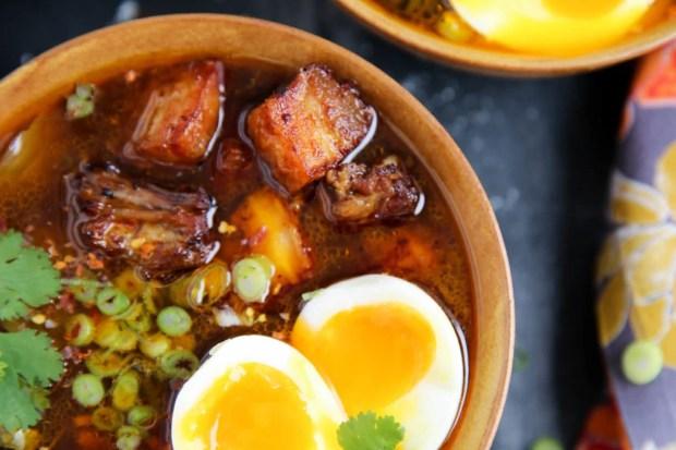 PaleOMG Instant Pot Pork Ramen